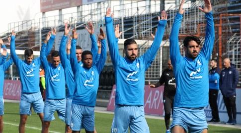 שחקני נבחרת ישראל באימון (ההתאחדות לכדורגל)