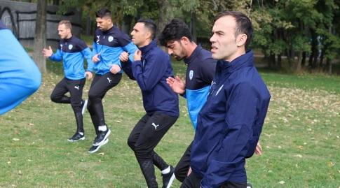 ביברס נאתכו באימון בפארק (ההתאחדות לכדורגל)