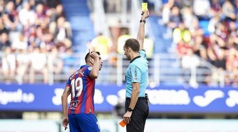שארלס מקבל את הצהוב (La Liga)