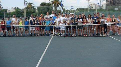 הזוכים באליפות ישראל לנוער (עמית שיסל)