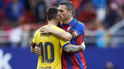 אנאיץ ארבייה וליאו מסי בסיום (La Liga)
