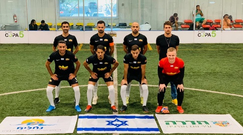 """הנבחרת הישראלית בקטרגל (יח""""צ) (מערכת ONE)"""