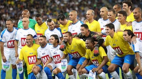 שחקני אגדות ברזיל וכוכבי ישראל (רדאד ג'בארה)