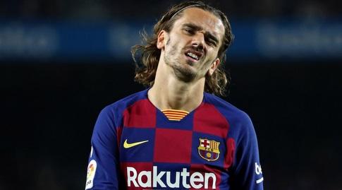 אנטואן גריזמן. עוד לא ממש התרגל למדים החדשים (La Liga)