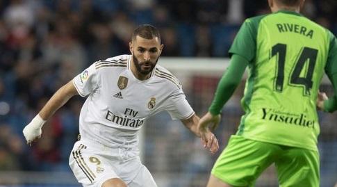קארים בנזמה עם הכדור (La Liga)