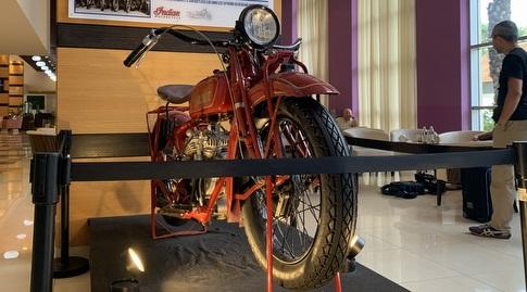 האופנוע שהציל את הספורטאים היהודים מהנאצים והגיע לארץ (אסי ממן)
