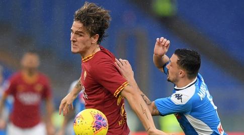 ניקולו זאניולו עם הכדור  (רויטרס)