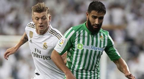 נביל פקיר במאבק עם טוני קרוס (La Liga)