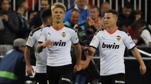 דניאל ואס חוגג (La Liga)