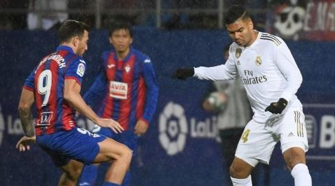 קאסמירו עם הכדור (La Liga)