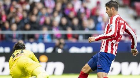 אלברו מוראטה מול דייגו לופס (La Liga)
