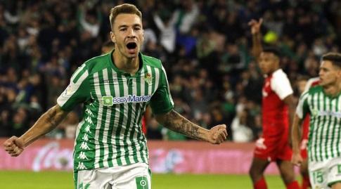 לורן מורון חוגג (La Liga)