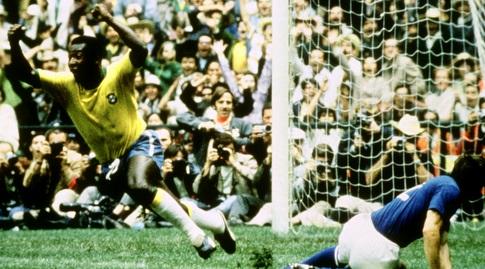פלה בגמר 1970 מול איטליה (Action Images / Sporting Pictures)