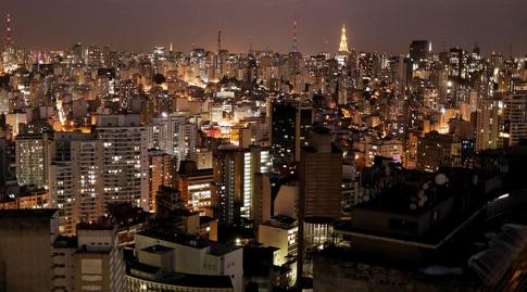 """סאו פאולו. פלה הוא """"הכוכב"""" של העיר הזו (רויטרס)"""