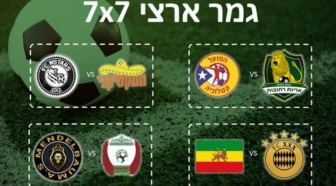 משחקי רבע הגמר (מדינת הכדורגל)