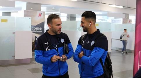 בירם כיאל וביברס נאתכו בנמל התעופה במקדוניה (ההתאחדות לכדורגל) (מערכת ONE)