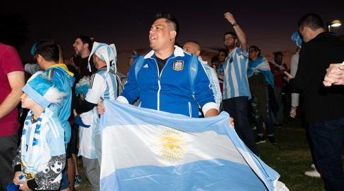 התהלוכה של אוהדי ארגנטינה (נעם מורנו)