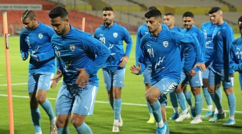 שחקני הנבחרת הצעירה של ישראל (שחר גרוס)