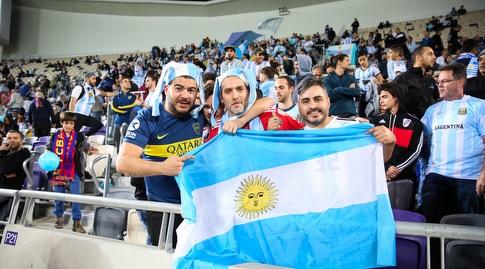 """אוהדי נבחרת ארגנטינה, לא מרוצים מהבחירה של פיפ""""א (איציק בלניצקי)"""
