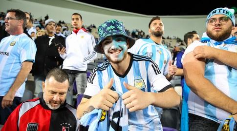 אוהדי נבחרת ארגנטינה (איציק בלניצקי)