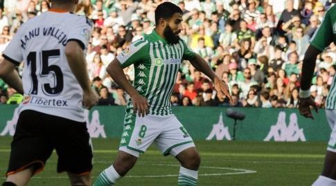 נביל פקיר עם הכדור (La Liga)