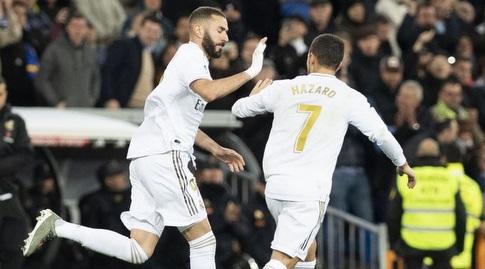 אדן הזאר חוגג עם קארים בנזמה (La Liga)
