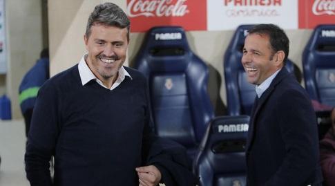 אוסקר גארסיה מרוצה בוויאריאל (La Liga)