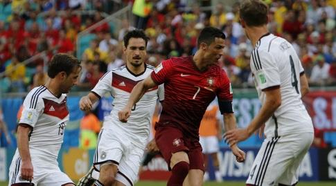 כריסטיאנו רונאלדו מול גרמניה (רויטרס)
