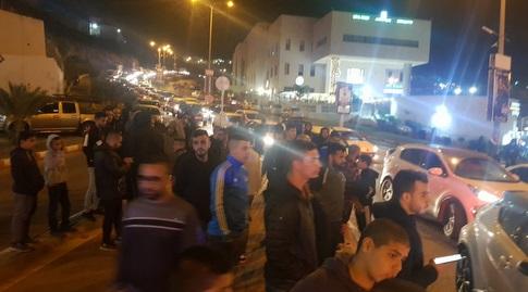 הפגנה נגד העירייה (דוברות אום אל פאחם)