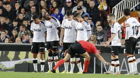 שחקני ולנסיה בחומה (La Liga)