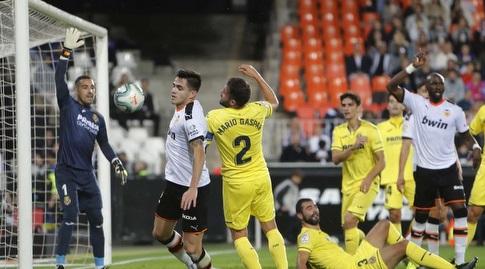 מקסי גומס במאבק ברחבה (La Liga)