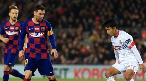 טאקה קובו מול ליאו מסי (La Liga)
