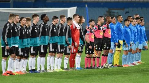 שחקני נבחרת ישראל וגרמניה עד גיל 18 (נעם מורנו)