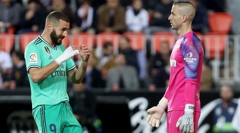 קארים בנזמה מאוכזב מול דומנק (La Liga)