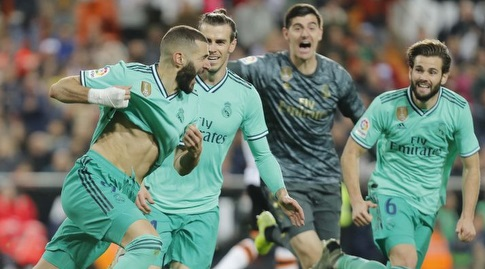 קארים בנזמה בטירוף (La Liga)