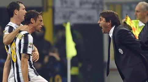 קלאודיו מרקיסיו בטירוף עם אנטוניו קונטה. תחת איזה מאמן היה טוב יותר? (רויטרס)