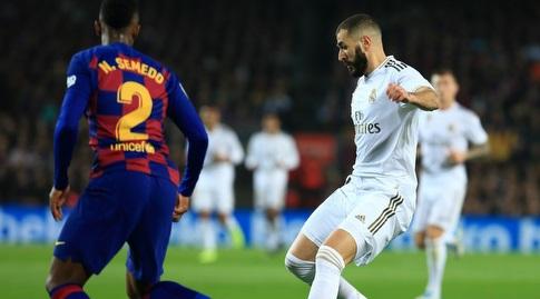 קארים בנזמה מול נלסון סמדו (La Liga)