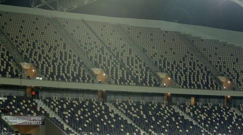 אצטדיון בלומפילד הריק (שחר גרוס)