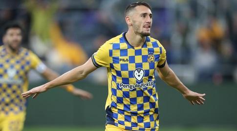 """גם הפועל כפ""""ס לא הבהילה את הצהובים, שניצחו 0:4 (רדאד ג'בארה)"""