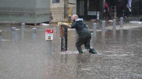 הצפה מחוץ לבלומפילד (רדאד ג'בארה)