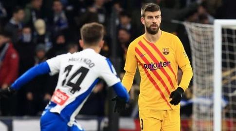 ג'רארד פיקה מול אוסקר מלנדו (La Liga)