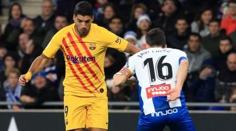 חאבי לופס מול לואיס סוארס (La Liga)