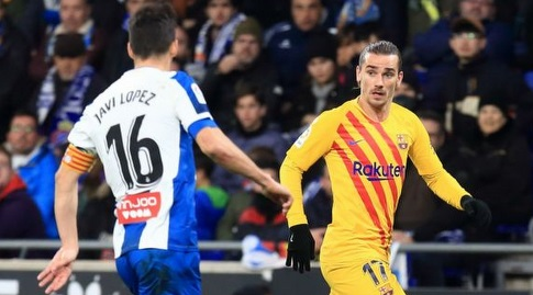 אנטואן גריזמן מול חאבי לופס (La Liga)