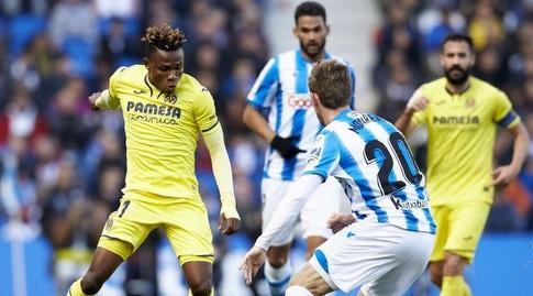נאצ'ו מונריאל מול סמואל צ'וקואזה (La Liga)