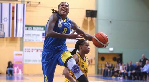קריסטל ברדפורד (קובי אליהו, באדיבות מנהלת ליגת העל לנשים בכדורסל)