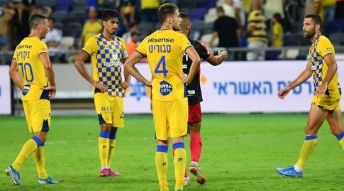 הפועל חדרה הצליחה לבלום את האלופה עם 0:0, אך הצהובים עדיין ללא שער חובה (חגי מיכאלי)