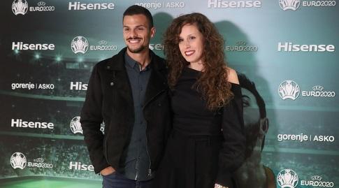 אנדרה ז'ראלדש וזוגתו (רדאד ג'בארה)