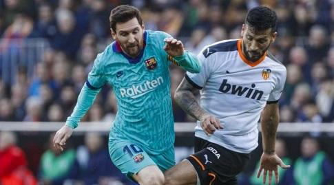 אסקייל גאראי מול ליאו מסי. מקרה ראשון בספרד (La Liga)