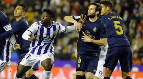נאצ'ו ומוחמד סאליסו במאבק ברחבה (La Liga)