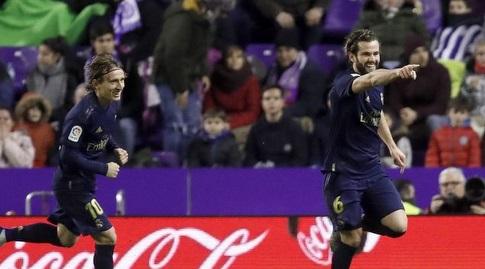 נאצ'ו פרננדס חוגג (La Liga)